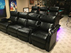 HT Design Paget Row of 4 Middle Loveseat & Row of 3