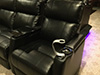 HT Design Paget Seats with Wine Holder Accessory