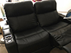 HT Design Pembroke Straight Row of 2 Loveseat with I Tablet Holder Accessory