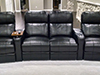 HT Design Southampton Curved Row of 4 Middle Loveseat