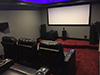 HT Design Southampton Straight Rows of 3 LED Cupholders & Baselighting