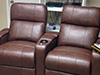 HT Design Southampton Brown Curved Row of 2