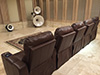 HT Design Southampton Brown Straight Row of 5