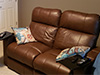 HT Design Brown Southampton Row of 2 Loveseat Tray Tables