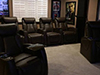 HT Design Somerset Row of 4 & 2-Arm Recliners