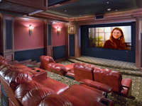 home theater picture - sands