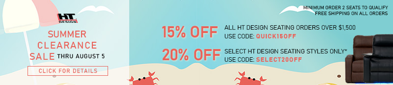 Quick Ship Seating Sale