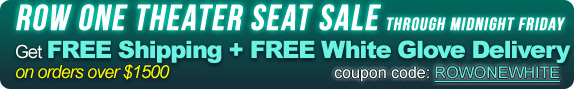 Row One theater seat sale