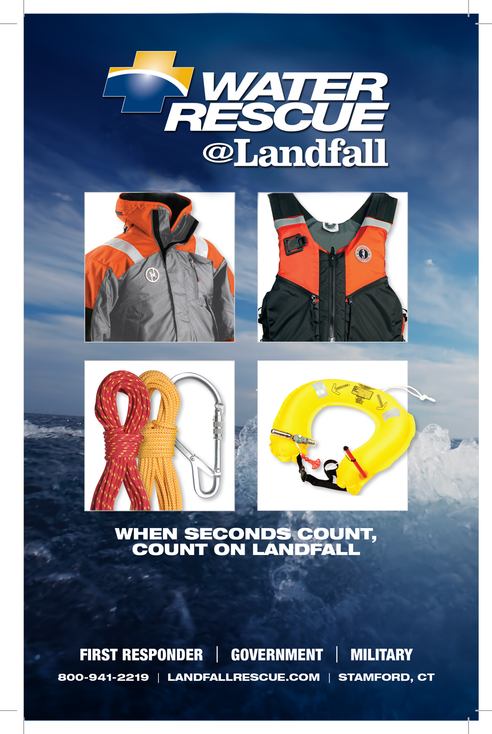 Landfall Water Rescue Catalog