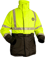 High Visibility Flotation Coat (ANSI 107-2004 Class 3 Compliant)