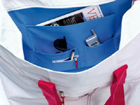 All SailorBags totes have plenty of handy interior pockets