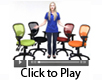 Multi-Function Ergonomic Mesh Task Chair