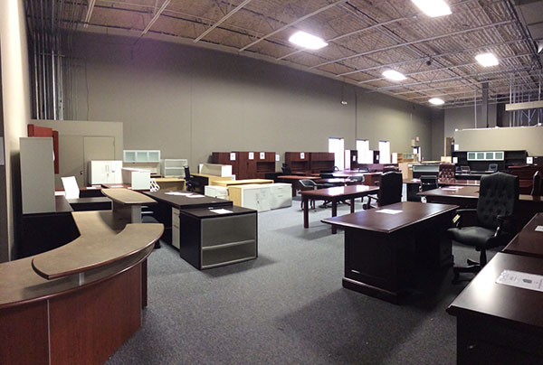 modern office furniture showroom - 6900 shady oak road - eden