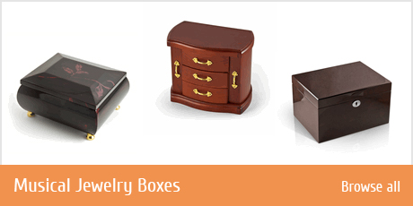 Musical Jewelry Boxes