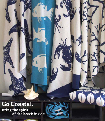 Coastal Throws