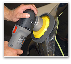 Use the Porter Cable 7424XP with or without the handle.