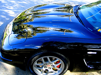 Pinnacle's carnauba waxes create shimmering reflections on all colors, but Souveran Wax is the best car wax for a black car.