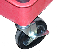 Grit Guard Universal Detailing Cart wheel lock