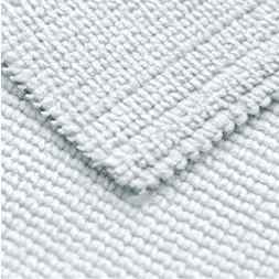 The looped construction makes the Arctic White Edgeless Microfiber Towel very effective at removing waxes and polishes.