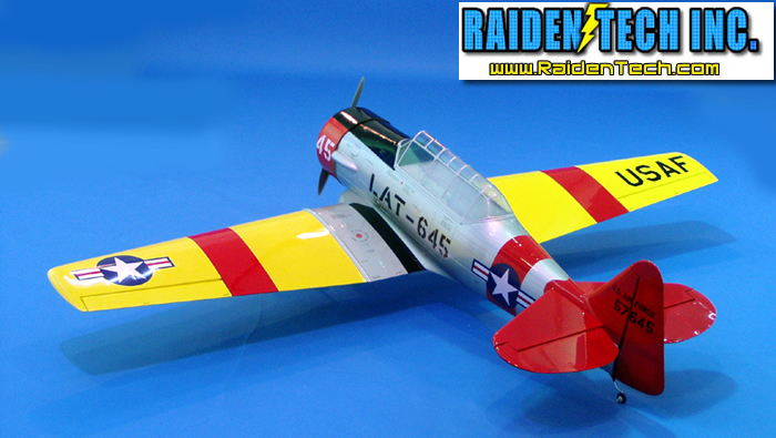 AT-6 Texan RC Plane