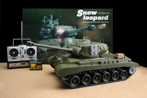 snow leopard hen long rc tank