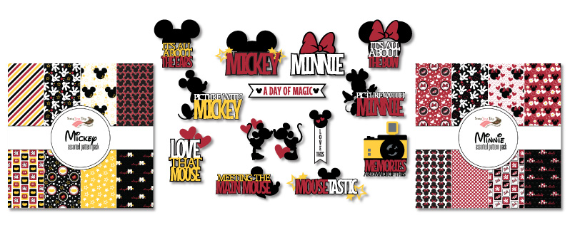 Mickey and Minnie Collections