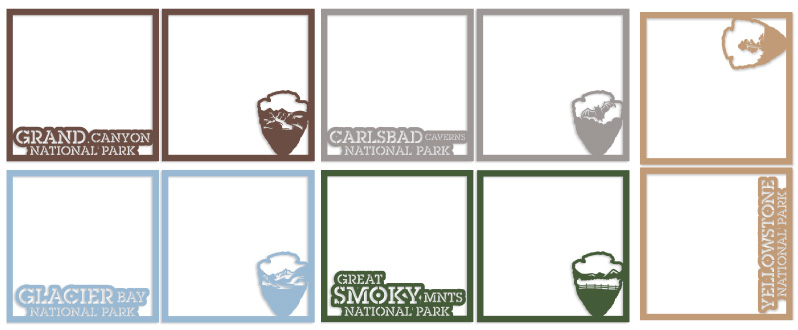 New National Parks Overlays