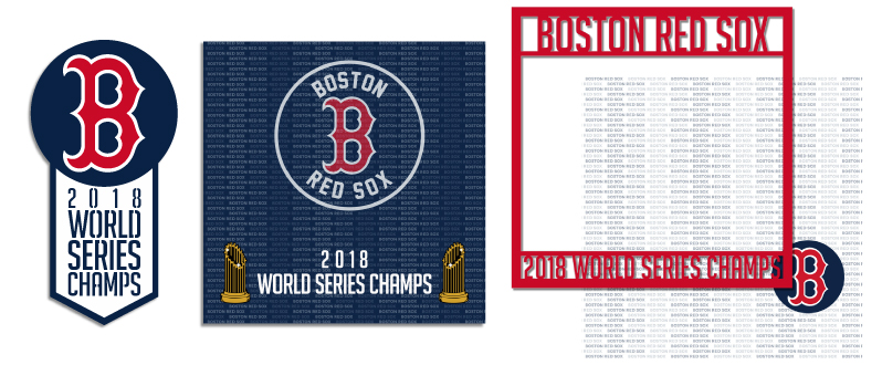 Boston Red Sox 2018 Champs Items