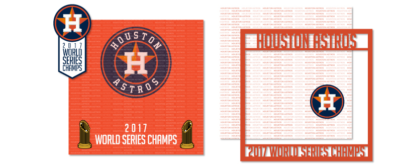 New Houston Astros 2017 Champs Collection