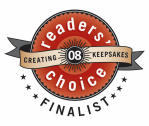 Creating Keepsakes Magazine Reader's Choice Finalist