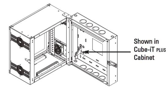 12796-501 Installed in rack - Application Diagram