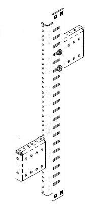 13286-501 or 13286-502 Installed in rack - Application Diagram