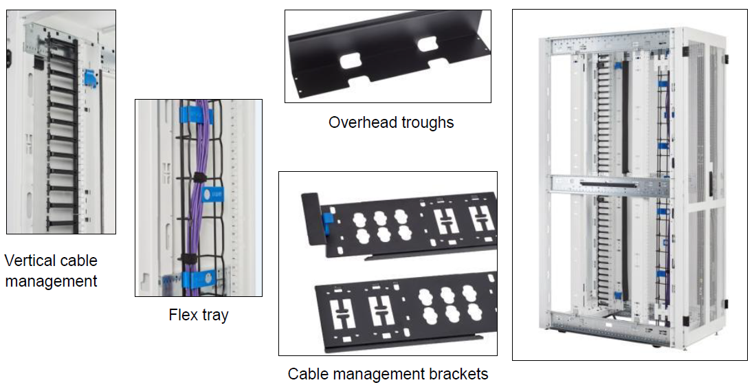 Eaton RS Rack Tool-less Cable Management