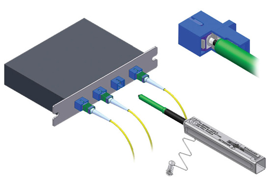 One-Click Fiber Cleaner Application