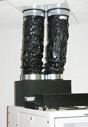 Flexible Exhaust Chimney