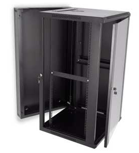 Wall Mount Cabinet with Side Panel Removed