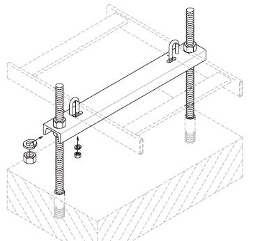 Adjustable Floor Support Channel