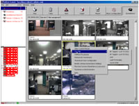 NetBotz Surveillance Screen Shot (NBSV1000)