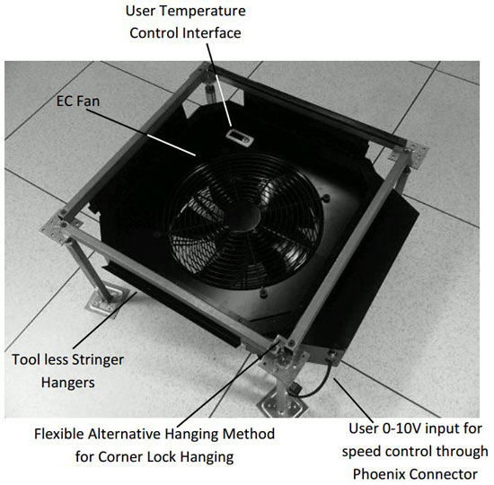 PowerAire C - Client-Sensor Airflow Fan Assist Device Application