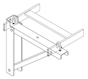 Triangular Support Bracket, Steel