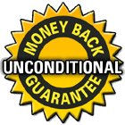 Unconditional Money Back Guarantee