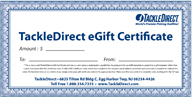 TackleDirect eGift template