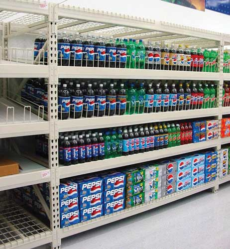 Heavy Duty Gravity Shelving