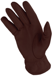 Deerskin Winter Trail Gloves Inside