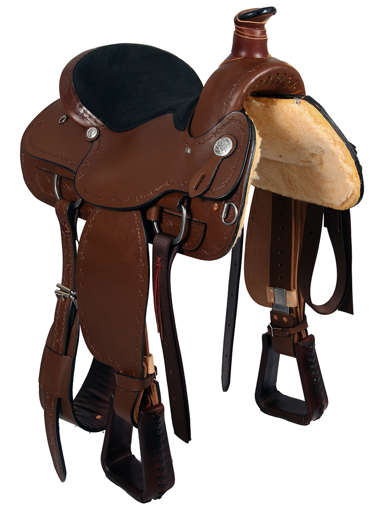 DISCONTINUED 2019/09/09 American Saddlery Lexie Collection A-Fork Ranch  Saddle 602