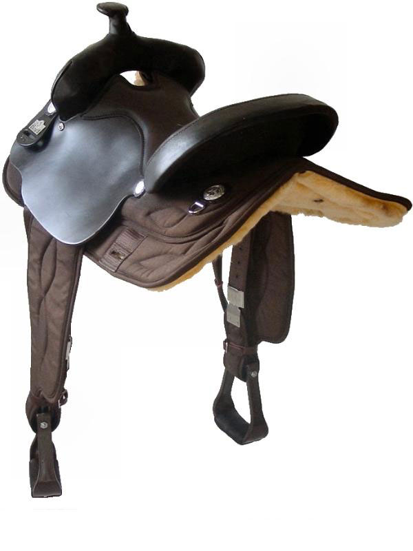 16 Quot Big Horn Brown Cordura Gaited Horse Saddle High