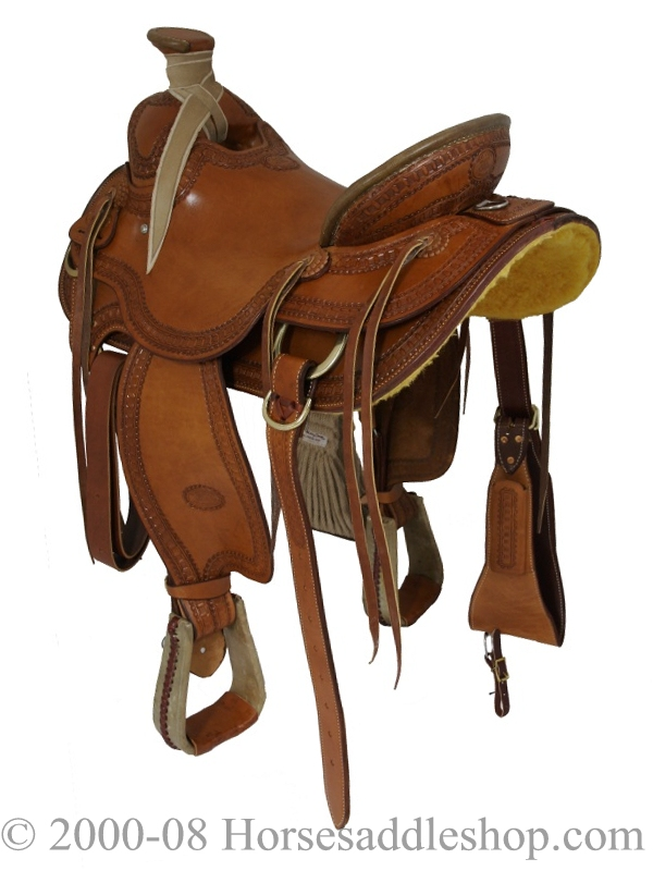 15 5 Quot 16 Quot Billy Cook Wade Ranch Mule Saddle 2285