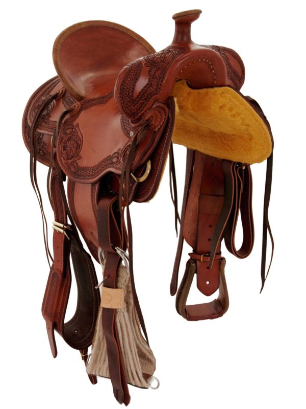 Front View, Billy Cook Saddle