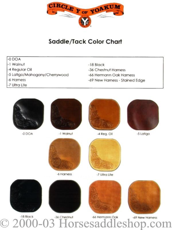 Click Here To View Circle Y Color Chart