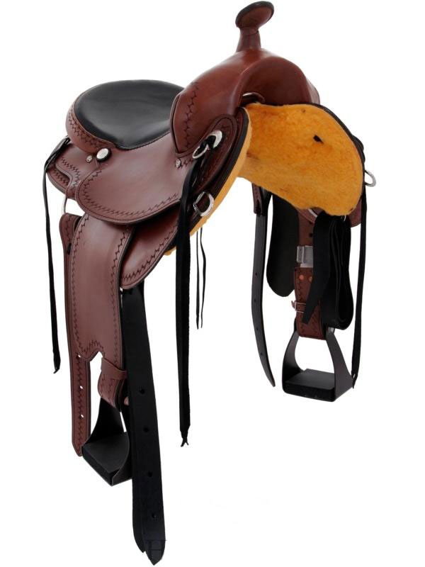 Front View, Dakota 211 Gaited Trail Saddle